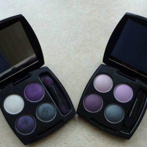 AVON poczwórne cienie do powiek true colour: lace electric i purple haze