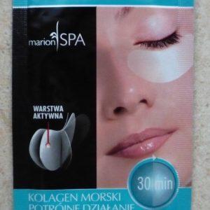 Inteligentne płatki kolagenowe pod oczy Marion + ostatnia dokładka zakupowa – przyrzekam ! :)