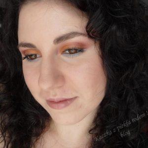 Sunset Make-up czyli powrót do mojej pierwszej palety Sleek :)