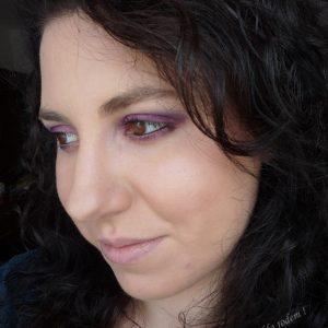 Kto kocha fiolet łapka w górę :) Niedzielne makijażowanie :)