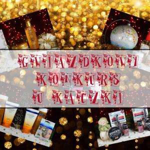 """KONKURS """"Gwiazdka u Kaczki"""" – 7 nagród od Fitomed, Hairstore.pl, Puderek.com.pl, Gosh i Lumene"""