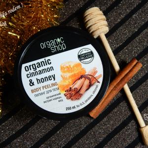Miodek z Mniszka – peeling do ciała organic cinnamon&honey Organic Shop