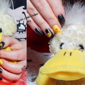 Black and yellow… czyli kaczy blog i kacze paznokcie :)