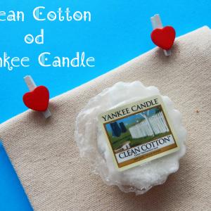 Zapach czystego mieszkania bez sprzątania :) Yankee Candle Clean Cotton