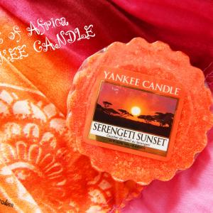 Wyjątkowy zachód słońca – Yankee Candle Serengeti Sunset