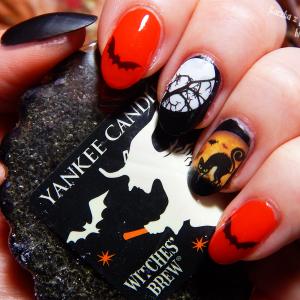 Szybkie zdobienie na straszenie – Halloweenowy manicure