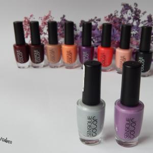 Lilia na wietrze – prosty manicure z Sensique + nowości