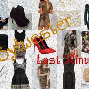 Sylwester Last Minute – sukienki, buty, torebki
