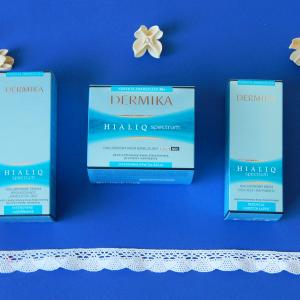 Walka z uprzedzeniami – Dermika Hialiq Spectrum: krem pod oczy, krem do twarzy 30+ i serum