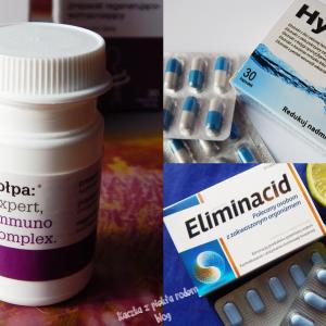 3xNIE – trzy suplementy, które nie zdziałały u mnie nic: Eliminacid, Tołpa Immuno Complex i HydrOff