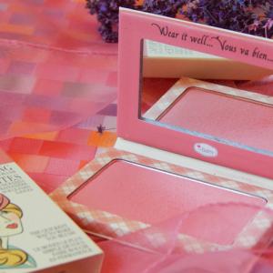 Ultra trwały róż do policzków – The Balm Instain odcień Argyle ( Petal Pink )