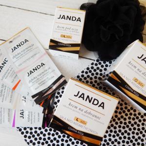 Stój bo mamuśka testuje – JANDA – Siła Nici Kosmetycznych Czarna Róża – kremy i maseczki