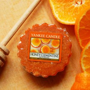 Mandarynki i miód – czy taki zapach da się zepsuć? Yankee Candle Honey Clementine
