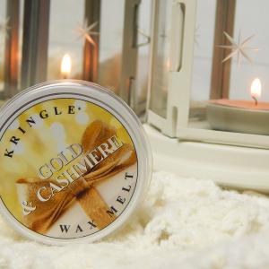 Zapach świątecznego domu – Kringle Candle Gold&Chasmere #Blogmas2016