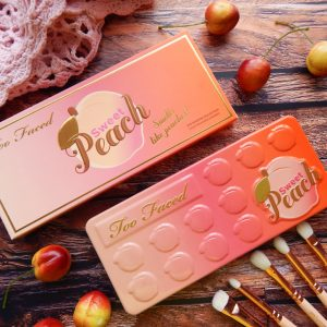 Najpiękniejsza paleta EVER – Sweet Peach od Too Faced