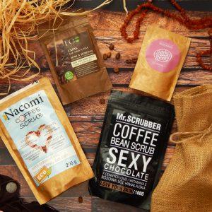 Przegląd kawowych peelingów do ciała – Nacomi, Body Boom, Mr. Scrubber i Eco Laboratorie