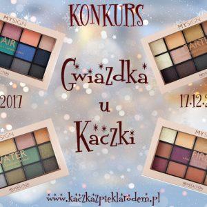 Gwiazdka u Kaczki – 4 palety 4 żywioły – nowość MySign od Makeup Revolution