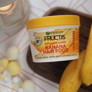 Siano, siano widzę… czyli jak skutecznie zamordować swoje włosy… + szybkim okiem na maskę Garnier Banana Hair Food