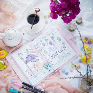 Goodbye April – kwietniowy szał nowościowy – pielęgnacja, kolorówka, sprzęt, nowe tła i bullet journal na maj