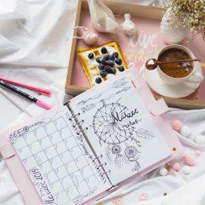 Zaplanuj swoją pielęgnację z Bullet Journal