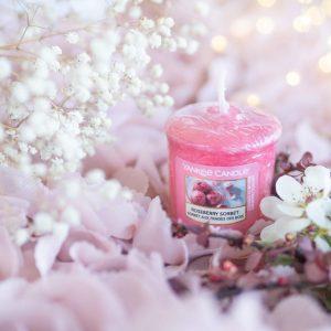 Letnie orzeźwienie – Roseberry Sorbet Yankee Candle