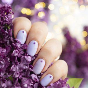 Lilac Nails czyli kolor sezonu Semilac Violet Blast