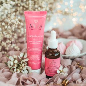 Na co stawiasz w pielęgnacji? Serum anti-aging i peeling od Miya Cosmetics