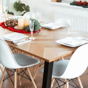 Stół gotowy na święta – model Brighton od Selsey