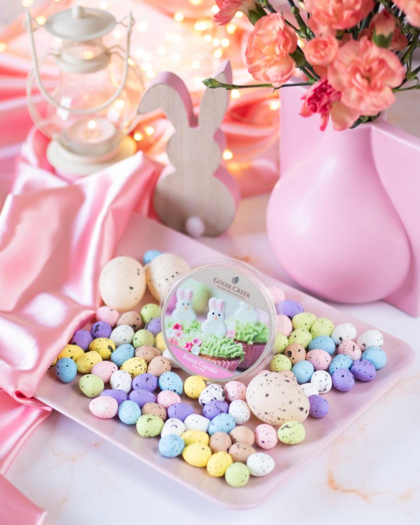 zapach na wielkanoc wosk bunny cupcake goose creek