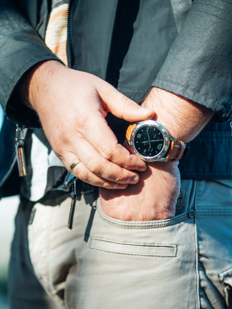 męski smartwatch garett