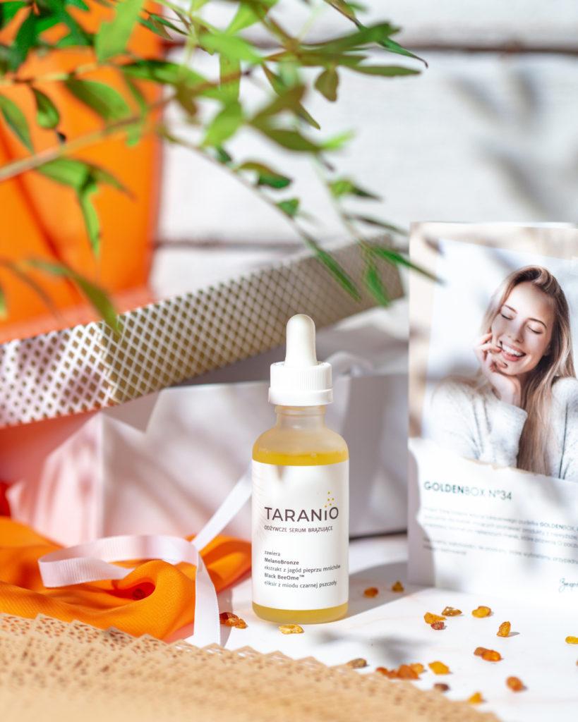 serum brązujące do twarzy Taranio