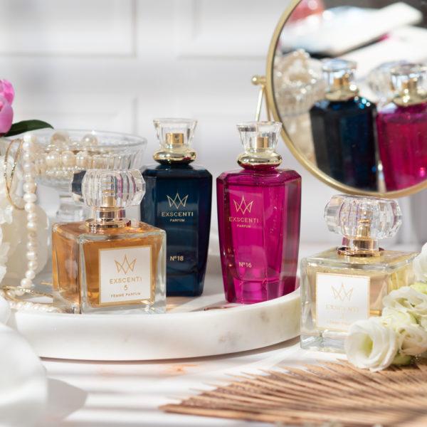 perfumy exscenti flakony 3 5 16 i 18
