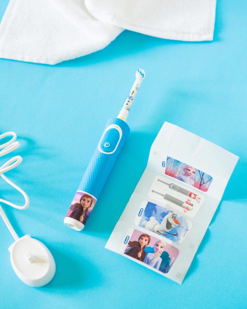 naklejki na szczoteczkę Oral-B