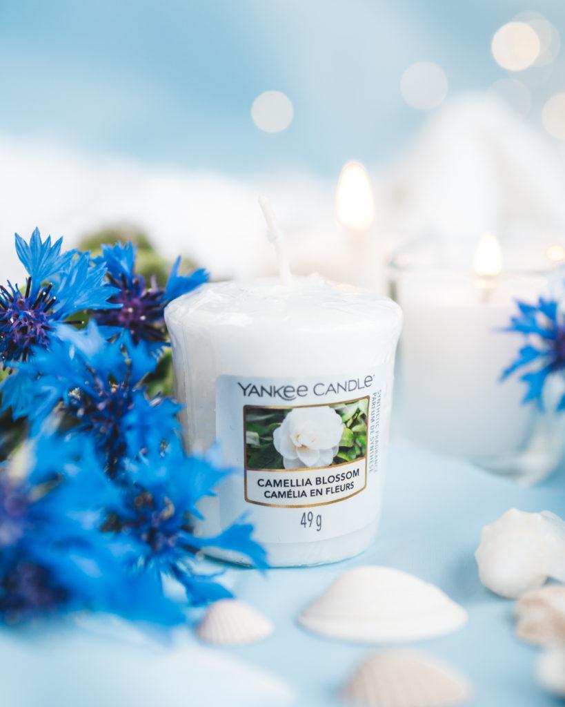 zapachy do domu świeca yankee candle camellia blossom