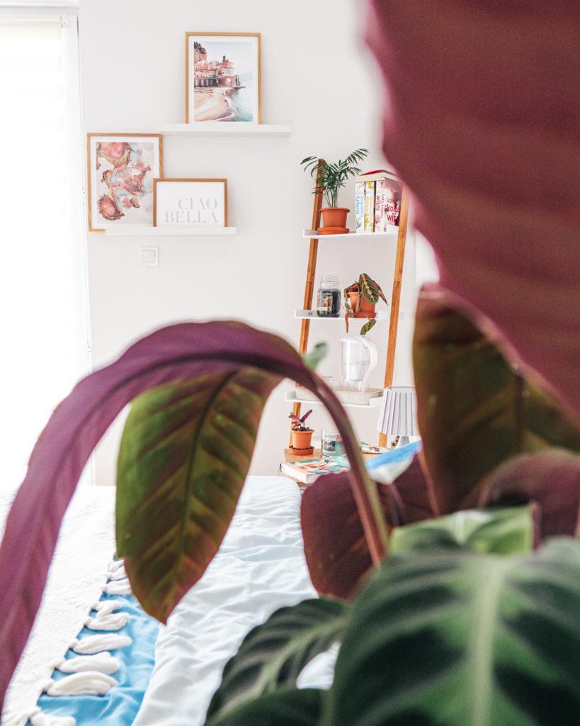 Przytulna sypialnia z plakatami Poster Store